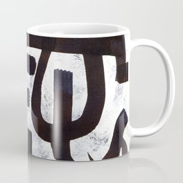 Abstract Calligraphy Coffee Mug