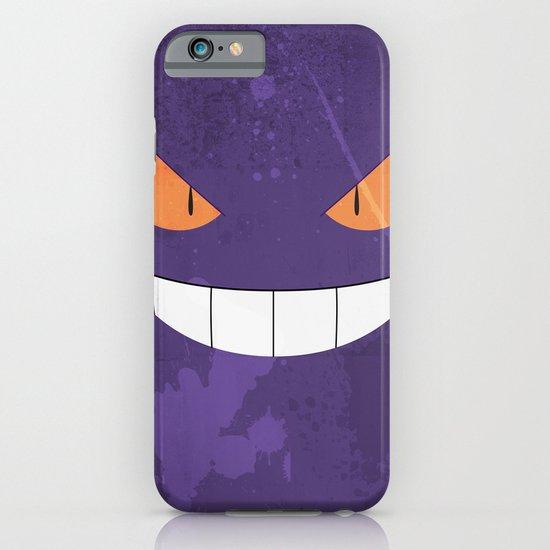 Minimalist Gengar iPhone & iPod Case