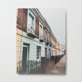 Gloomy Day In Camden Metal Print