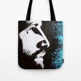 Forgiven Jesus Painting Tote Bag