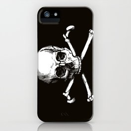 Skull and Crossbones | Jolly Roger iPhone Case