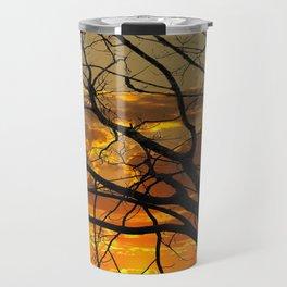 Sunset Tree, California Travel Mug