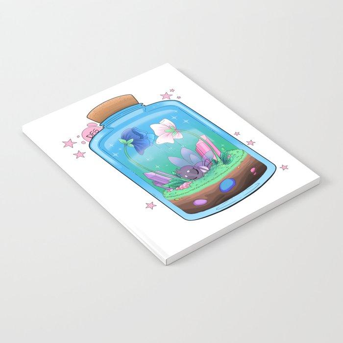 Spiderfly in a Jar Notebook by dragonfoxgirl