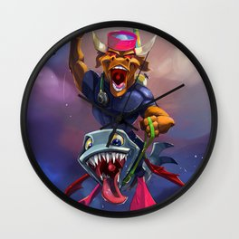 Evil Was Never This Good Wall Clock