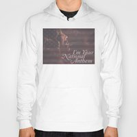jessica lange Hoodies featuring American Horror Story Jessica Lange Flag by NameGame