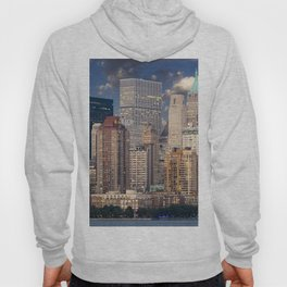 Downtown NYC at twilight Hoody