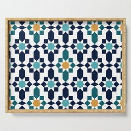 Moroccan style pattern Serving Tray