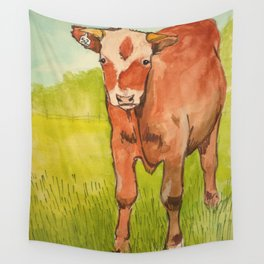 Moo Cow Wall Tapestry