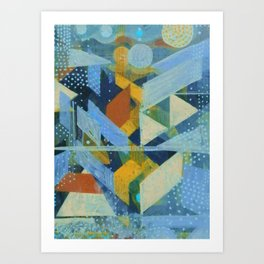 Slices Art Print
