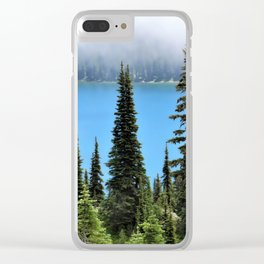 Dewey Lake Clear iPhone Case