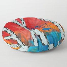 Live and Love Birch Floor Pillow