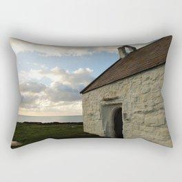 Church on the Sea Rectangular Pillow
