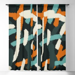Abstract Painting 01 Blackout Curtain