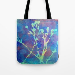 Diazo Series — Thistle Tote Bag