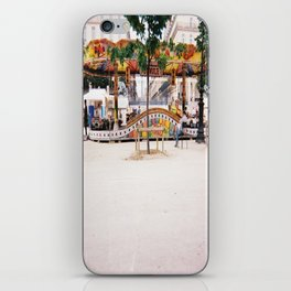 Photograph of Paris summer fair outside of St Honore Hotel society6 zolliophone shop iPhone Skin