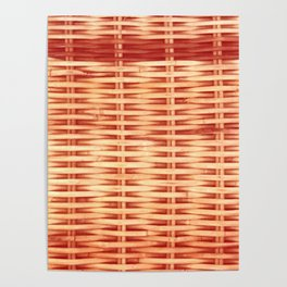 Woven Warm Poster