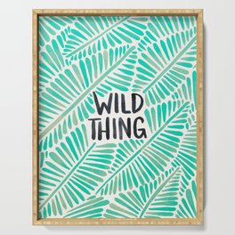 Wild Thing – Mint Palette Serving Tray