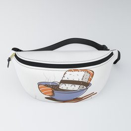 Sushi in spa Fanny Pack
