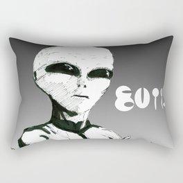Modern Aliens Rectangular Pillow