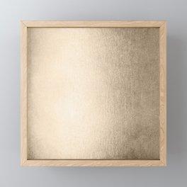 White Gold Sands Framed Mini Art Print