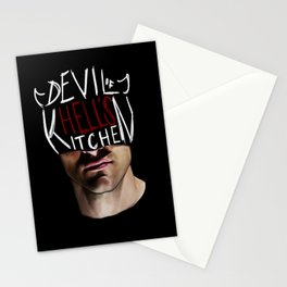 The Devil of Hell's Kitchen Stationery Cards