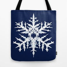 Evil Snow Tote Bag