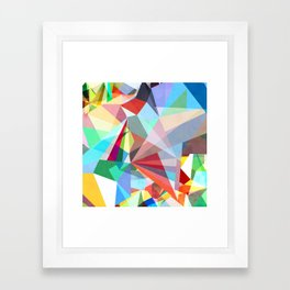 Colorflash 5 Framed Art Print