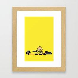 Kill Pixel Bill  Framed Art Print