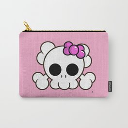 Super Cute Rebel Kawaii Skull Carry-All Pouch