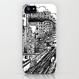 NY Train iPhone Case