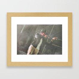 Chance the Rapper Live Framed Art Print
