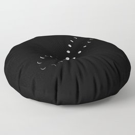 Infinite Moon Phase Floor Pillow