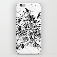 Rome map iPhone & iPod Skin
