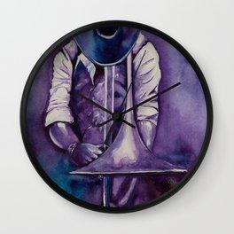 The trombonist Wall Clock
