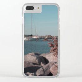 Boat Launch Clear iPhone Case