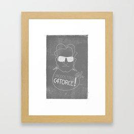 Bono Sunglasses Framed Art Print
