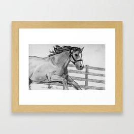 Canter Framed Art Print