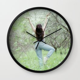 Eve Wall Clock