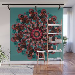 Fireworks Wall Mural