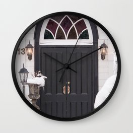 Welcome Warmth Wall Clock