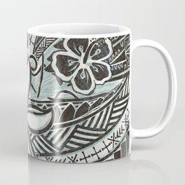 Hawaiian Slate Ocean Spray Print Coffee Mug