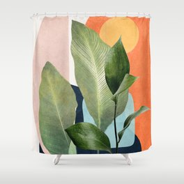 Nature Geometry VII Shower Curtain