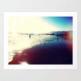 Carpenteria State Beach Art Print
