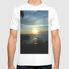I got sunshine... on a cloudy day Mens Fitted Tee White MEDIUM