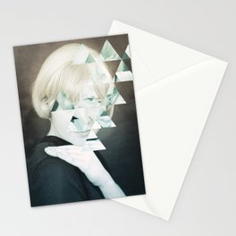 obstruction. Stationery Cards
