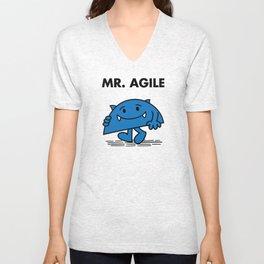 Mr. Agile Unisex V-Neck