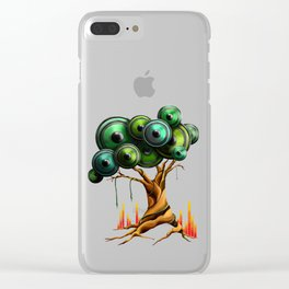 Tree of Music Clear iPhone Case