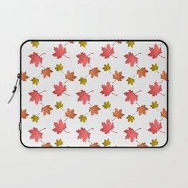 Fall Leaves Pattern Laptop Sleeve