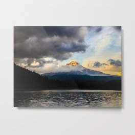 Mt. Hood at Sunset Metal Print