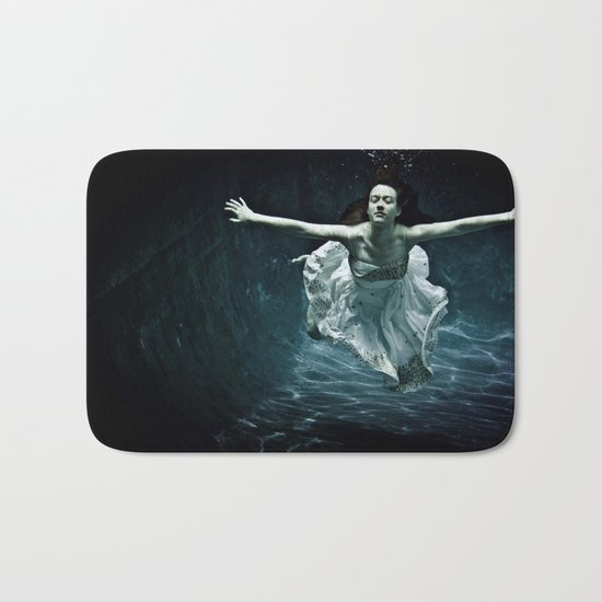 abyss of the disheartened : girl I Bath Mat